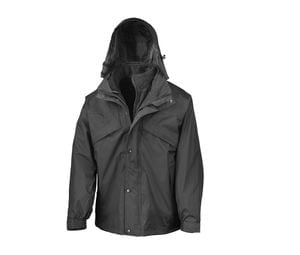 Result RS068 - 3-In-I Zip And Clip Jacket
