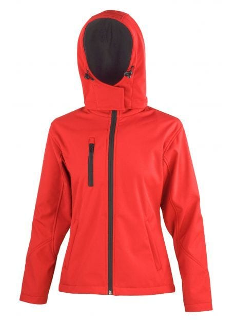 Result RS23F - Ladies' Performance Hooded Jacket