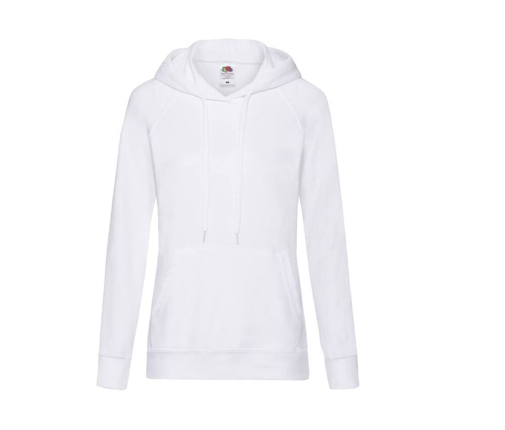 Fruit of the Loom SC363 - Lady-Fit Lightweight Hooded Sweat