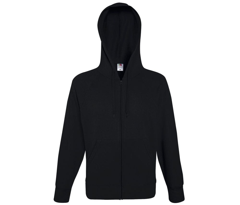 Fruit of the Loom SC367 - Lightweight Hooded Sweat Jacket