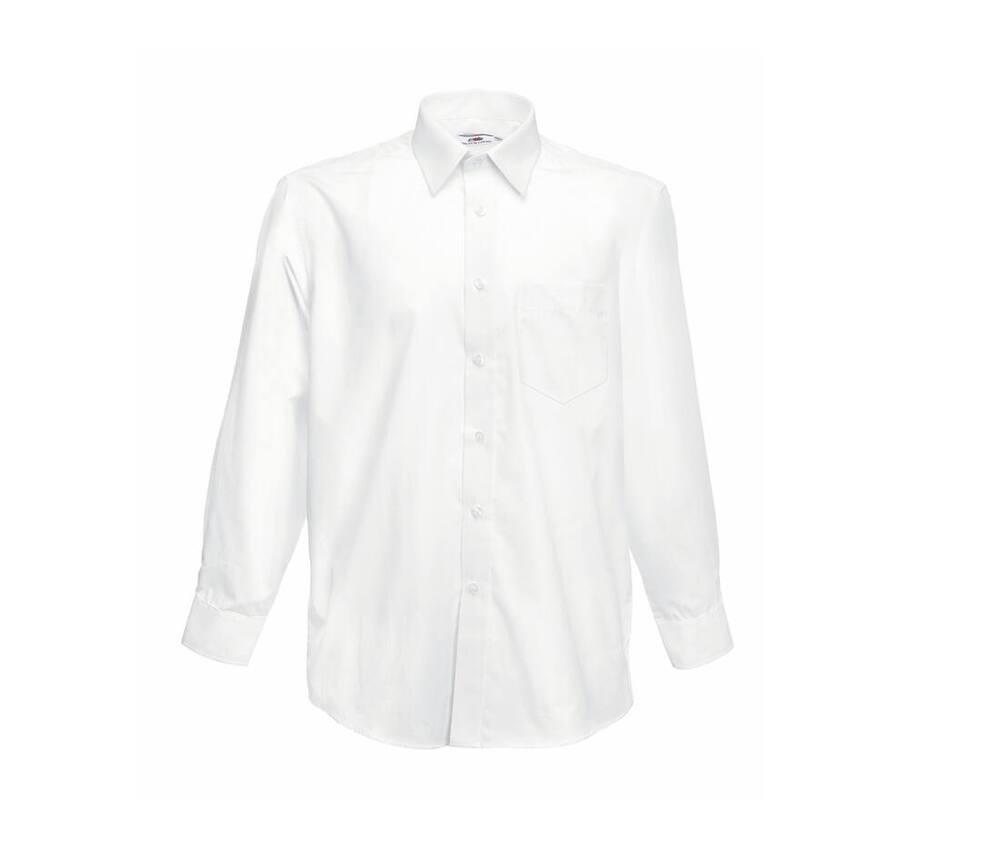 Fruit of the Loom SC410 - Poplin Long Sleeve Shirt