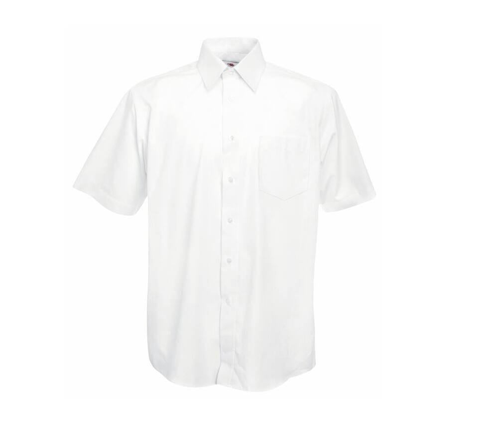 Fruit of the Loom SC415 - Poplin short sleeve shirt
