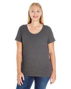 LAT 3804 - Remera de cuello redondo para mujer