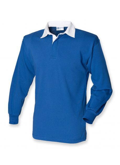 Front row FR100 - einfaches langarm RUGBY SHIRT