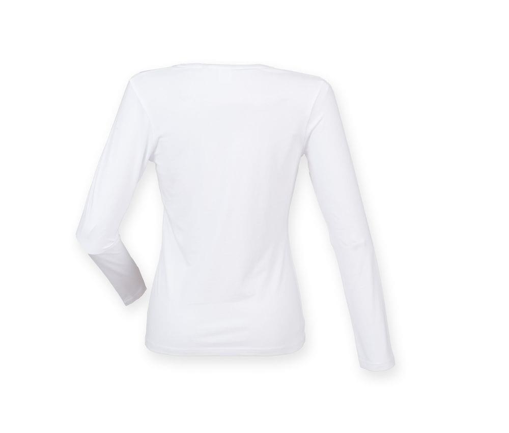 Skinnifit SK124 - SF Ladies Feel Good Long Sleeve Stretch T-Shirt