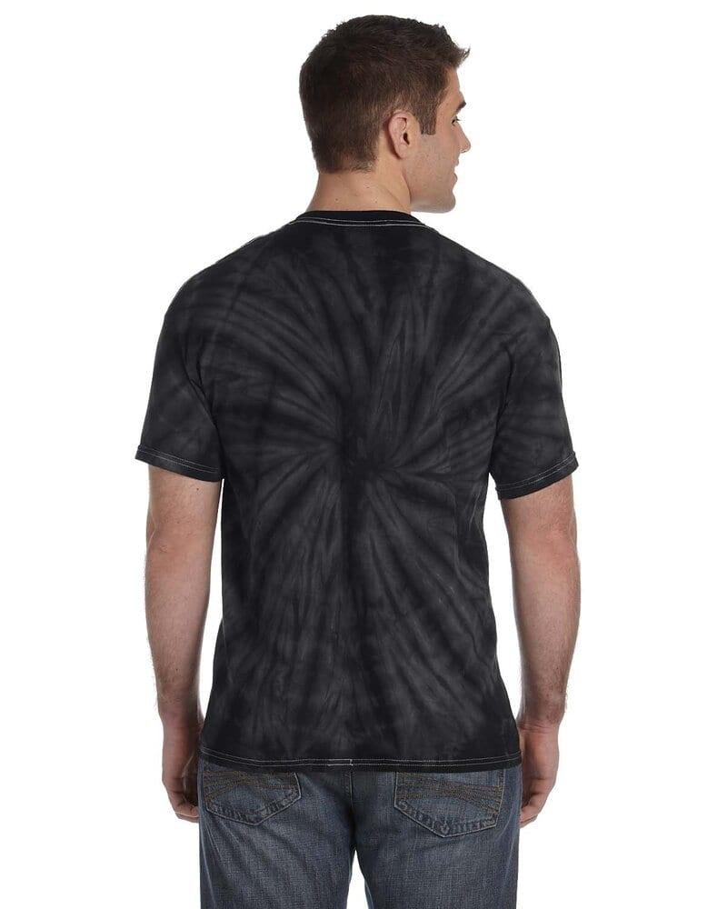 Tie-Dye CD101 - Adult 5.4 oz., 100% Cotton Spider Tie Dye T-shirt