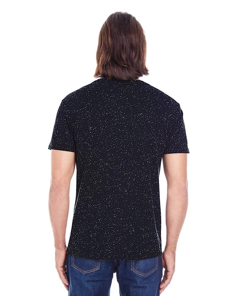 Threadfast 103A - T-shirt à manches courtes en Triblend Fleck pour hommes