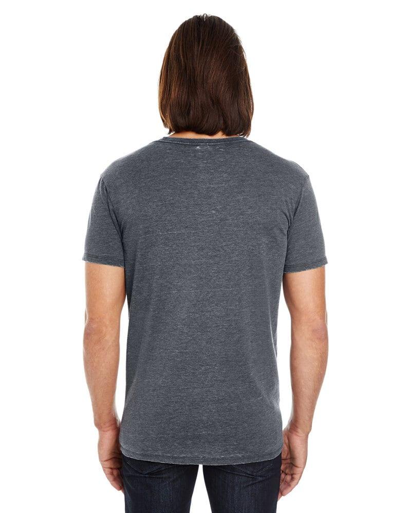 Threadfast 108A - T-shirt unisexe à manches courtes en teinture vintage