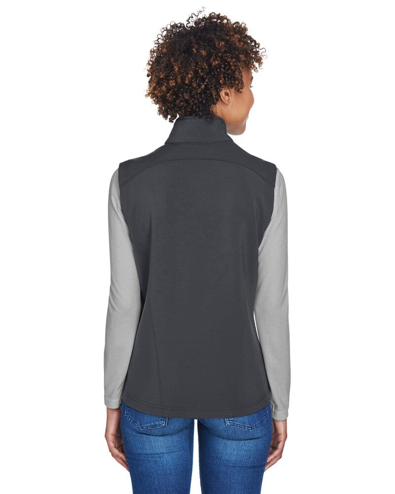 Ash CityCore 365 CE701W - Ladies Cruise Two-Layer Fleece Bonded Soft Shell Vest