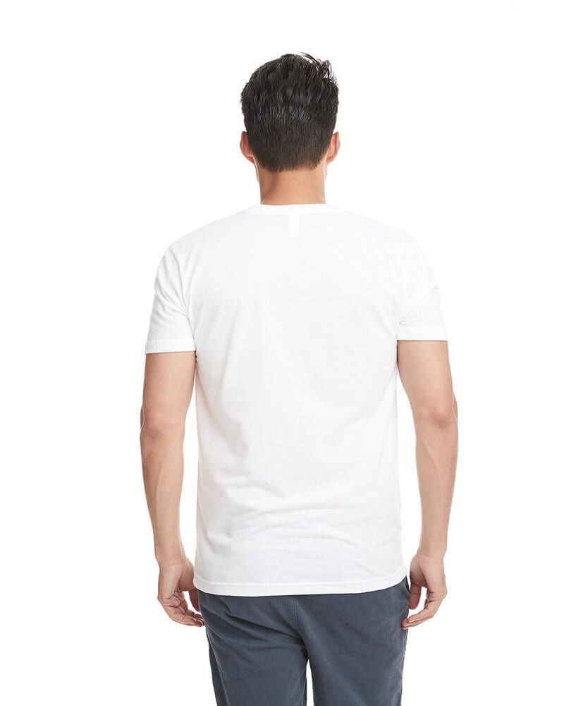 Next Level 6440 - Men's Premium Fitted Sueded V-Neck Tee