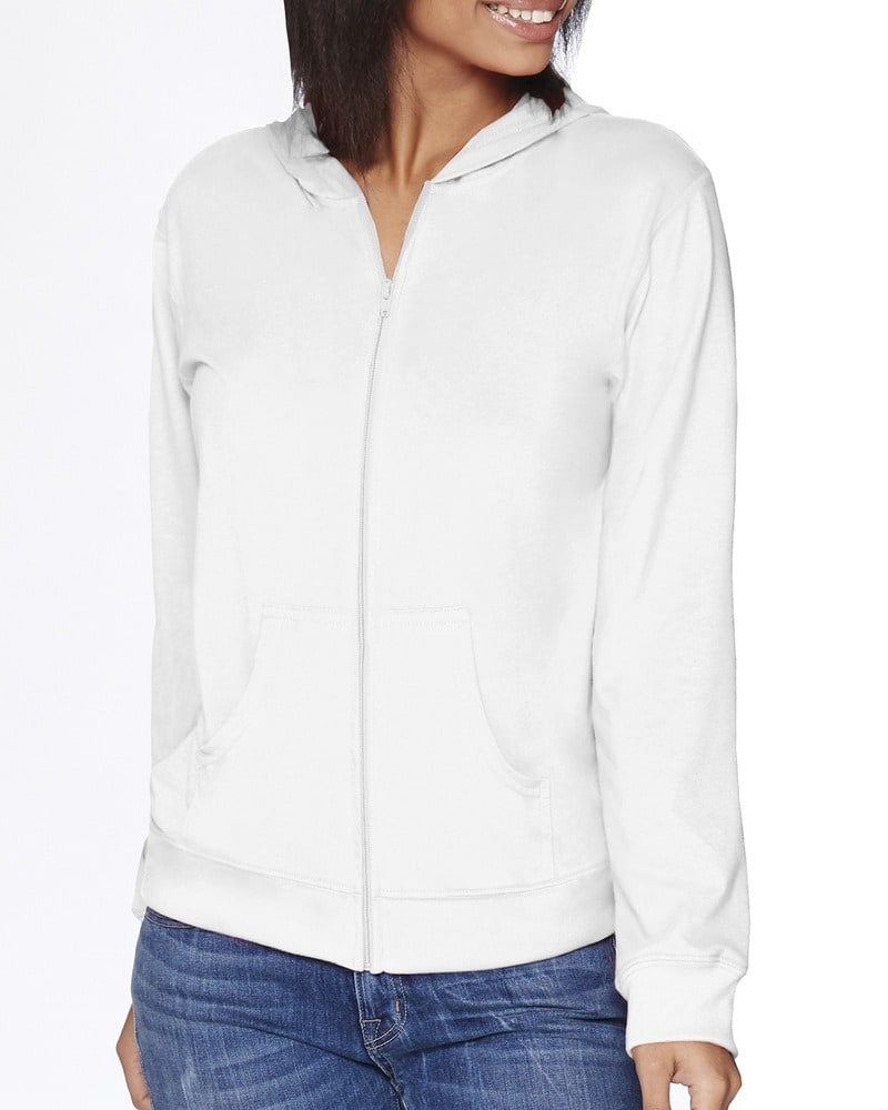 Next Level 6491 - Adult Sueded Full-Zip Hoody