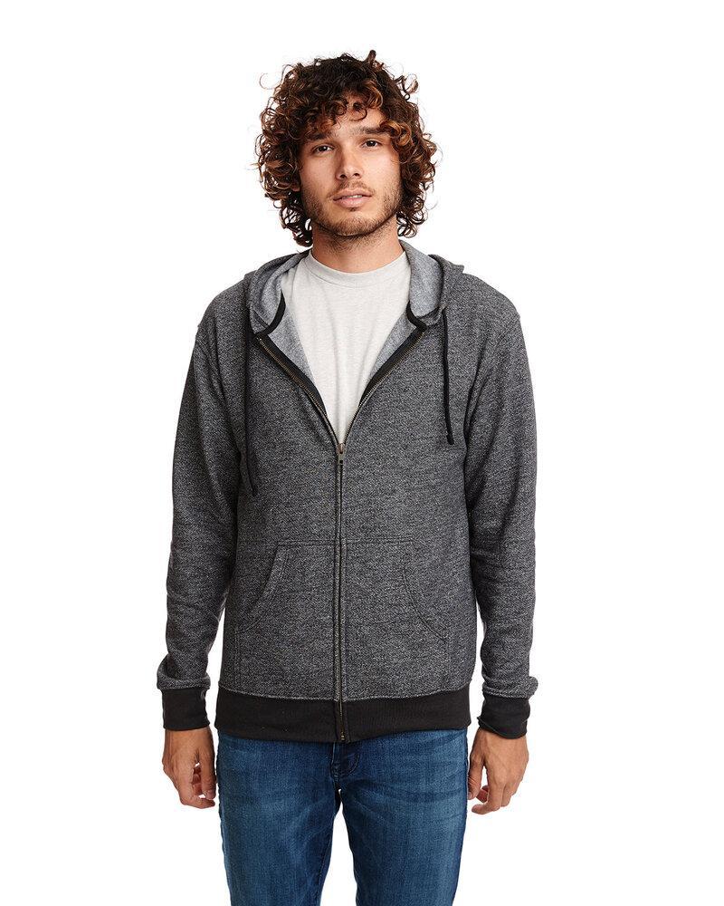 Next Level 9600 - Adult Denim Fleece Full-Zip Hoody