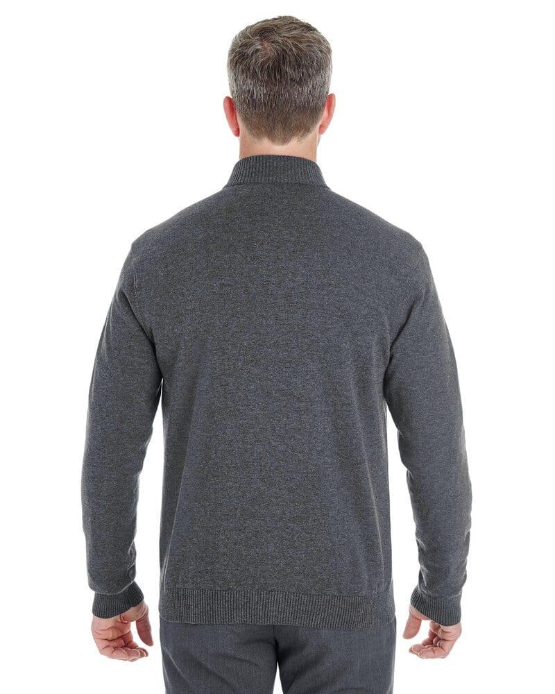 Devon & Jones DG478 - Men's Manchester Fully-Fashioned Half-Zip Sweater
