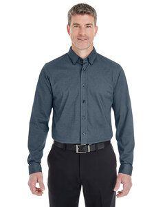 Devon & Jones DG230 - Chemise à boutons Central en coton mélangé pour homme