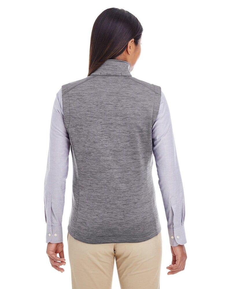 Devon & Jones DG797W - Ladies Newbury Mélange Fleece Vest