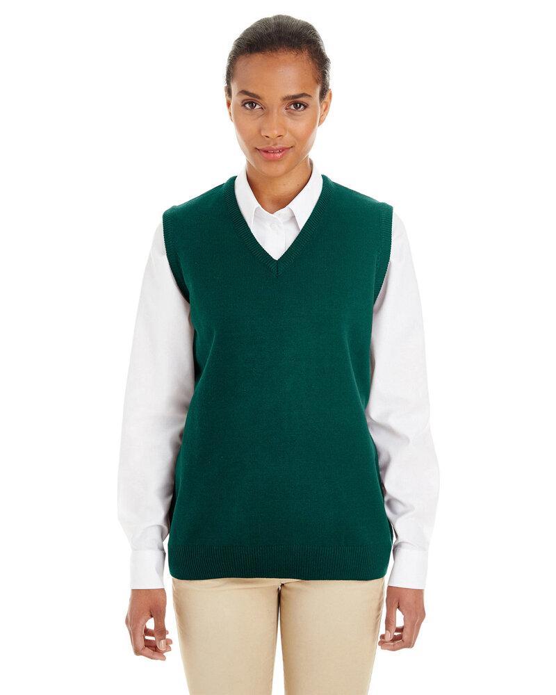 Harriton M415W - Ladies Pilbloc™ V-Neck Sweater Vest
