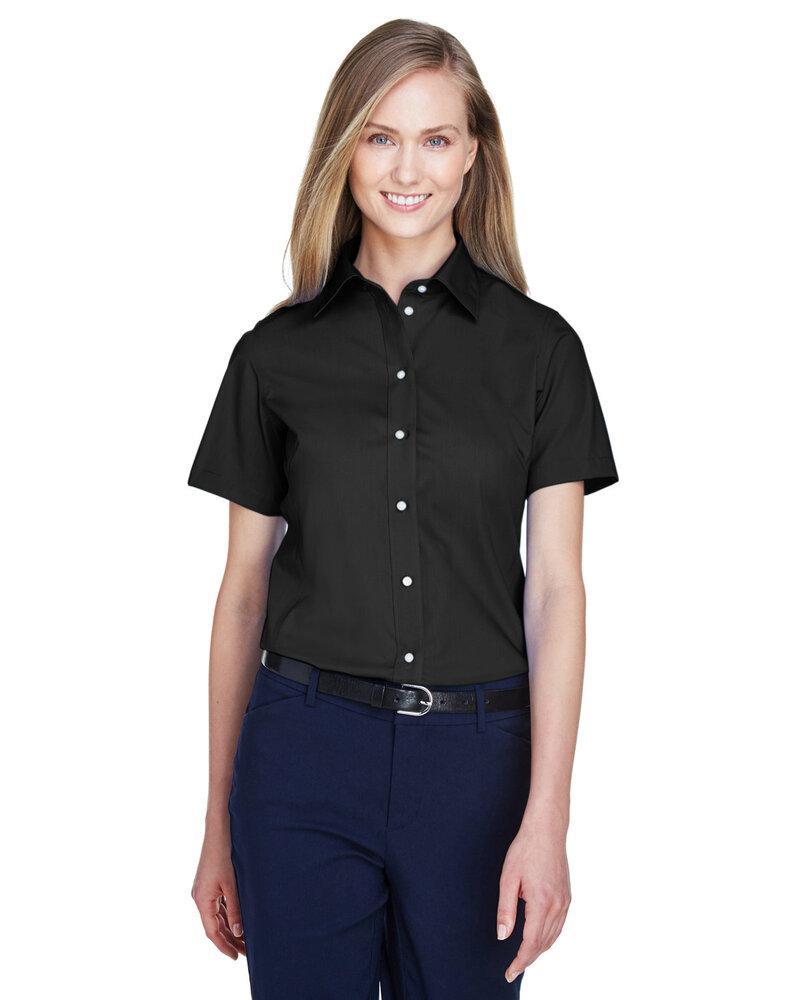 Devon & Jones D620SW - Ladies Crown Collection™ Solid Broadcloth Short Sleeve Shirt