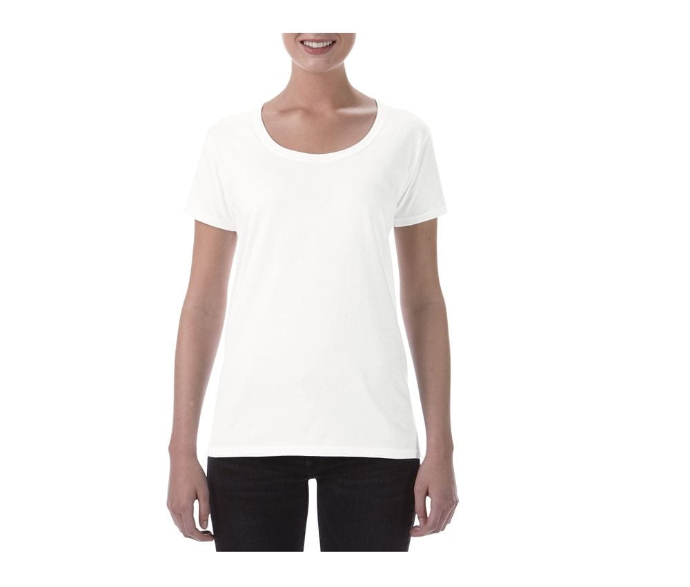 Gildan GN645 - Sofstyle Ladies Deep Scoop T/Shirt