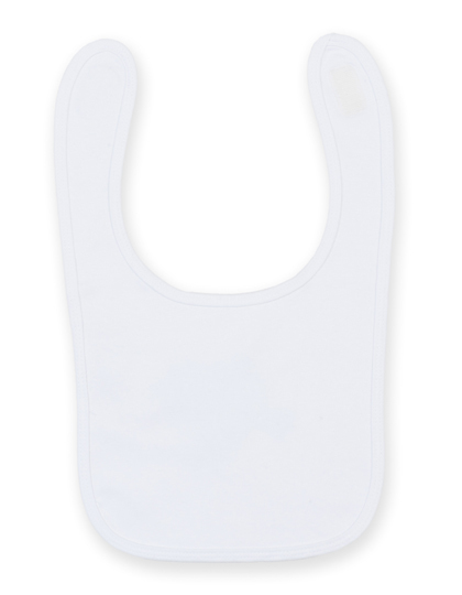 Larkwood Plain And Contrast Bib LW082