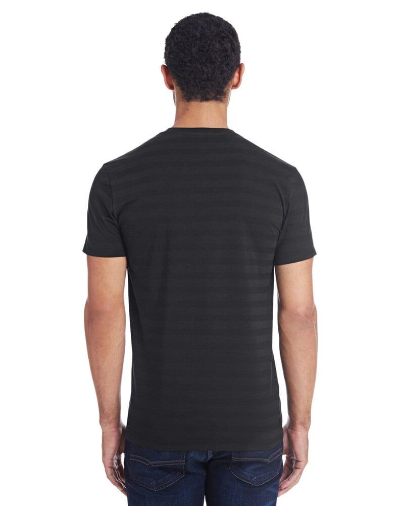 Threadfast 152A - Men's Invisible Stripe Short-Sleeve T-Shirt