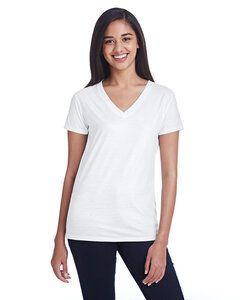 Threadfast 240RV - Ladies Liquid Jersey V-Neck T-Shirt