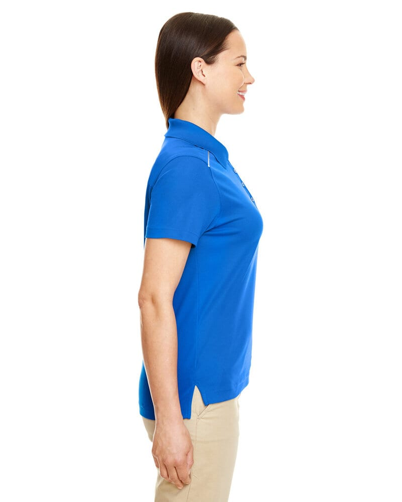 Core 365 78181R - Ladies Radiant Performance Piqué Polo with Reflective Piping