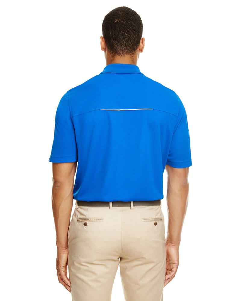 Core 365 88181R - Men's Radiant Performance Piqué Polo with Reflective Piping