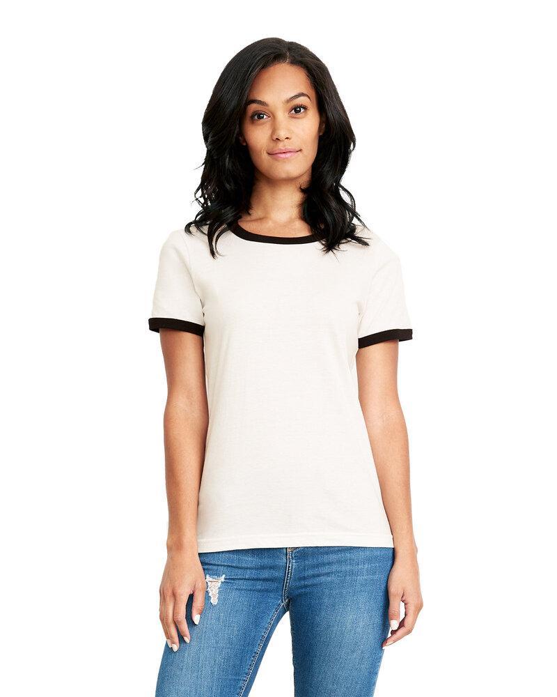 Next Level 3904 - Ladies Ringer T-Shirt