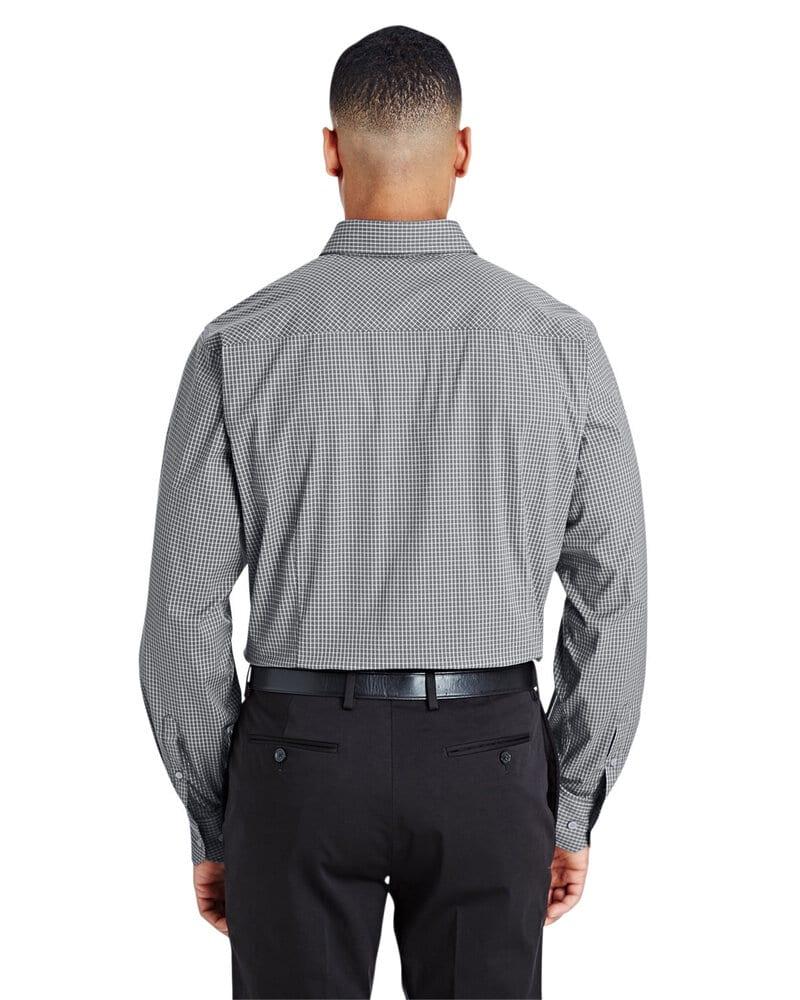 Devon & Jones DG535 - Men's CrownLux Performance™ Tonal Mini Check Shirt