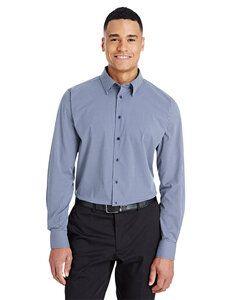 Devon & Jones DG535 - Mens CrownLux Performance™ Tonal Mini Check Shirt