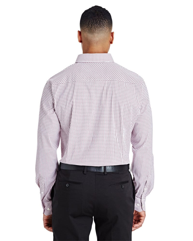 Devon & Jones DG540 - Men's CrownLux Performance™ Micro Windowpane Shirt