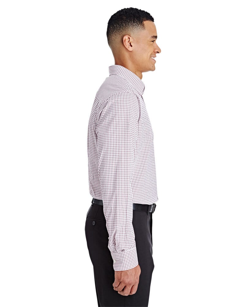 Devon & Jones DG540 - Men's CrownLux Performance™ Micro Windowpane Shirt