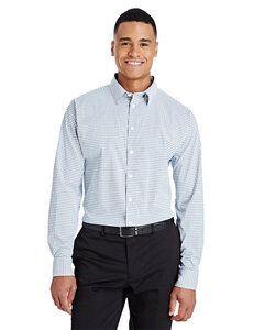 Devon & Jones DG540 - Mens CrownLux Performance™ Micro Windowpane Shirt