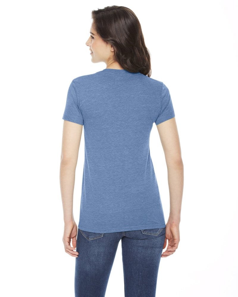 American Apparel TR301W - Ladies Triblend Short-Sleeve Track T-Shirt
