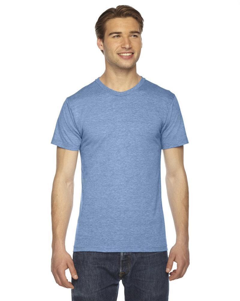 American Apparel TR401W - Unisex Triblend Short-Sleeve Track T-Shirt