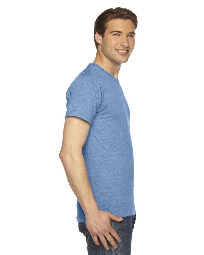 American Apparel TR401W - T-shirt de course à manches courtes en Triblend unisexe
