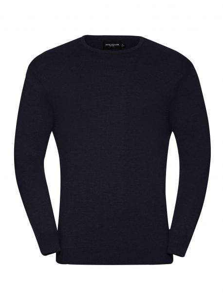Russell JZ717 - Men's Crew Neck Knitted Pullover