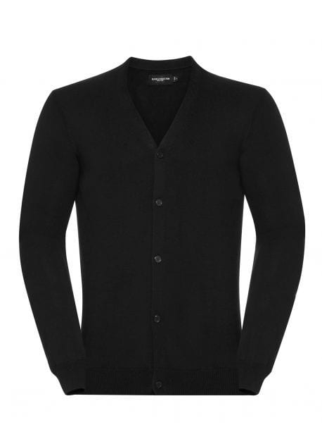 Russell JZ71M - Cardigan Homme Col V Coton