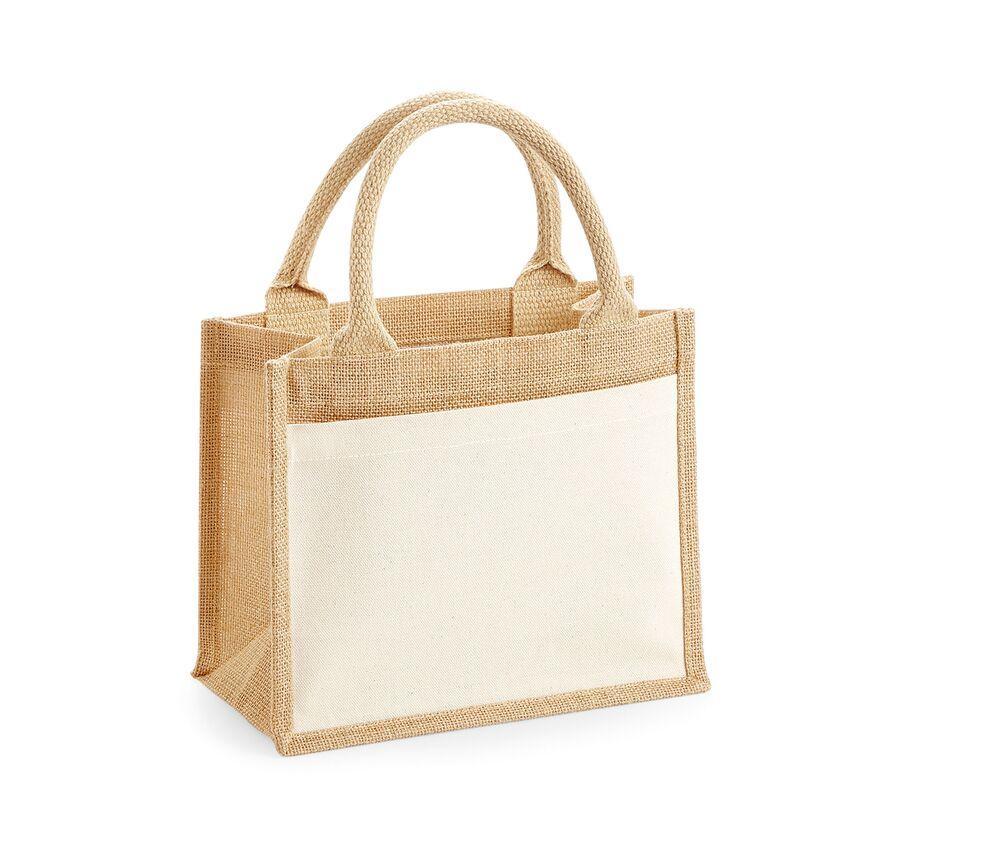 WestFord Mill WM425 - Cotton pucket jute gift bag