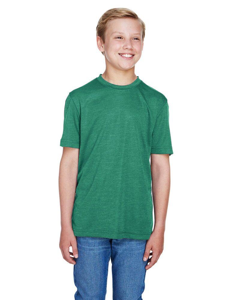 Team 365 TT11HY - Youth Sonic Heather Performance T-Shirt