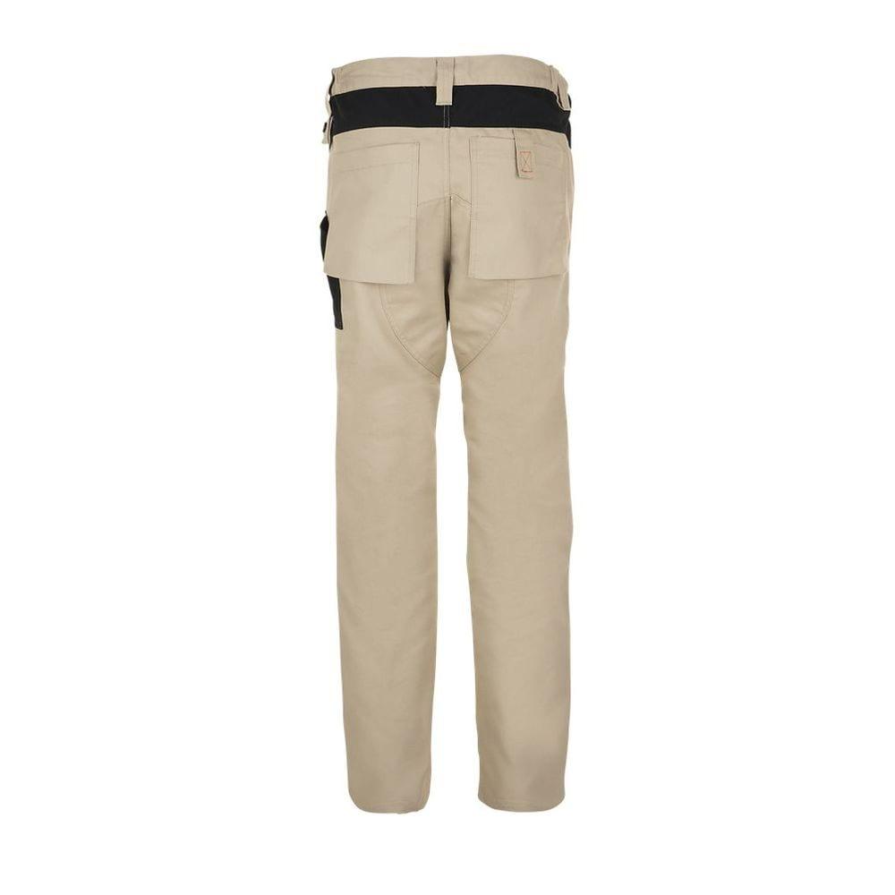 Sol's 01560 - Dwukolorowe męskie spodnie robocze Metal Pro
