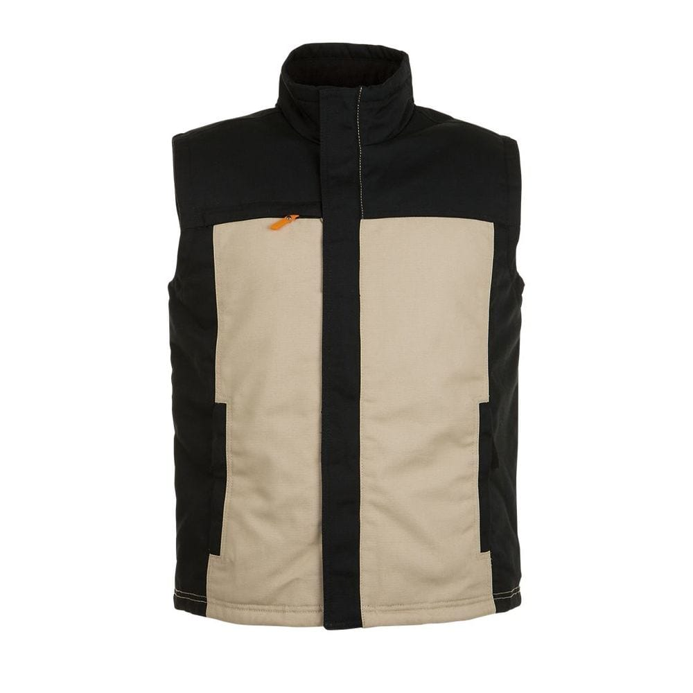 Sol's 01567 - Workwear Bodywarmer Tweekleuren Heren Mission Pro