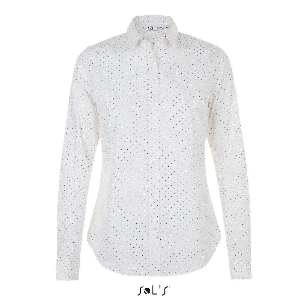 Sol's 01649 - Women's Polka dot Shirt Becker