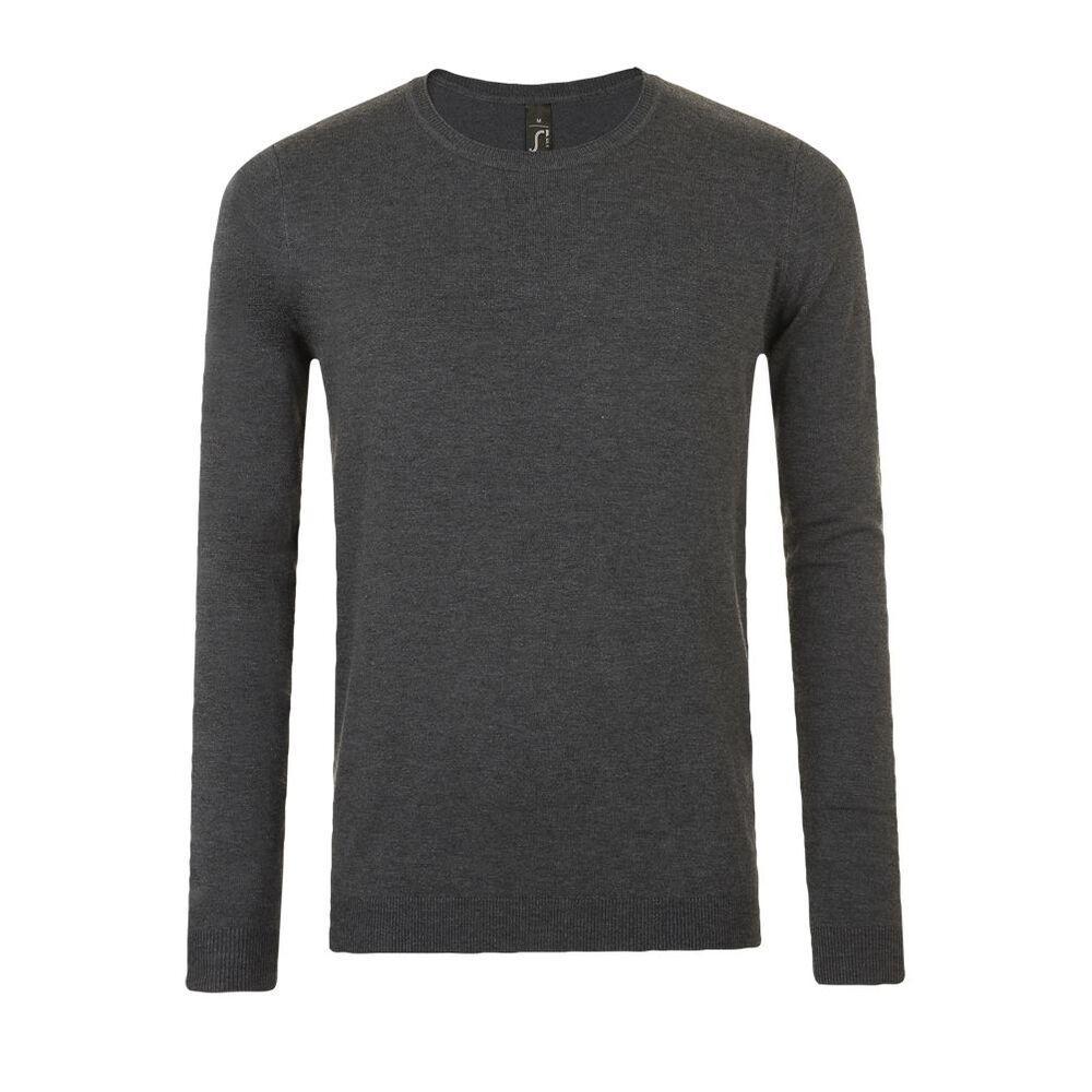 Sol's 01712 - Men's Round Neck Sweater Ginger
