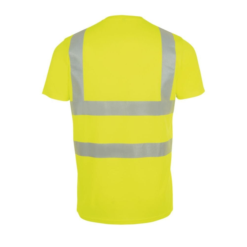 Sol's 01721 - T Shirt With High Visibility Strips Mercure Pro