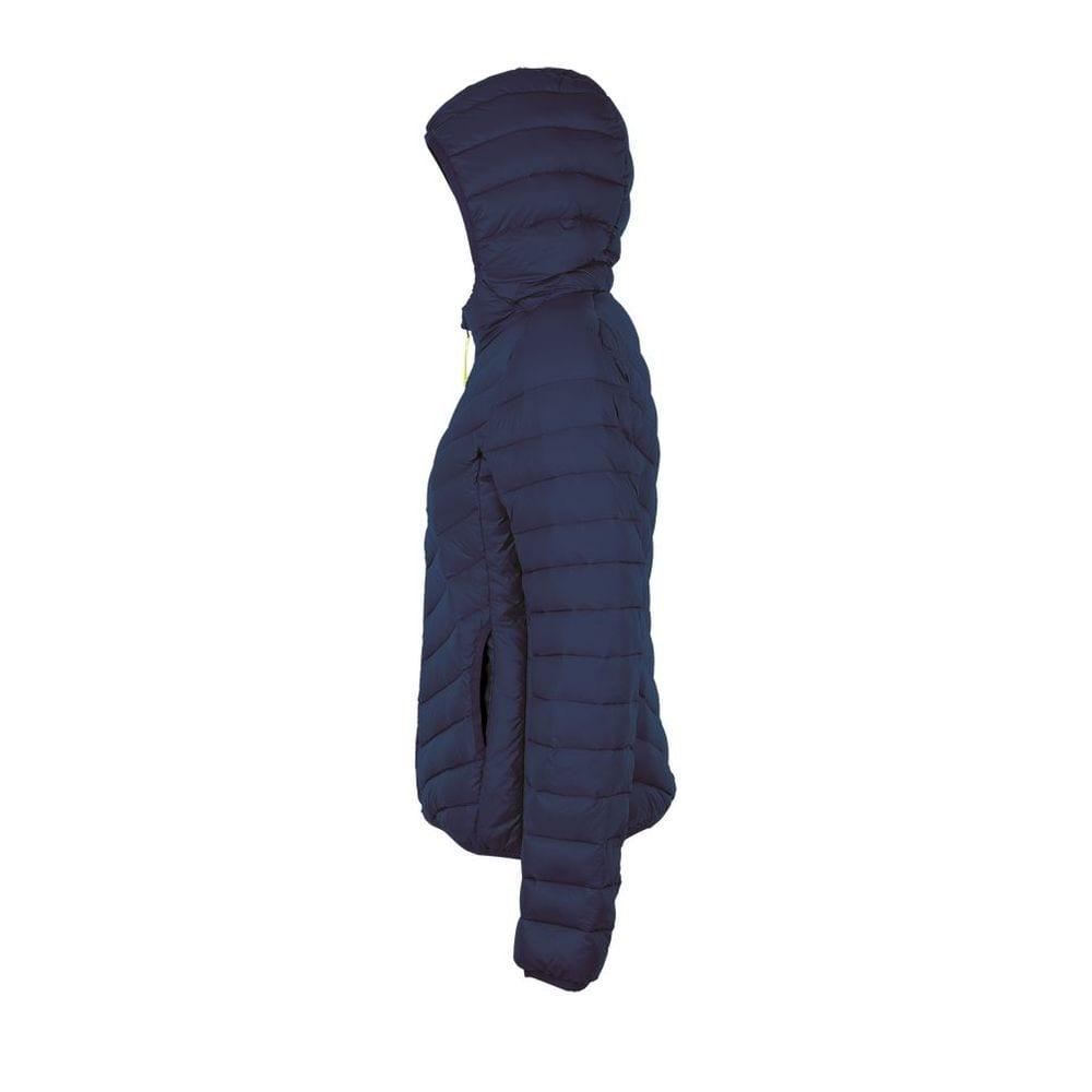 Sol's 01621 - Women's Light Hooded Padded Jacket Ray