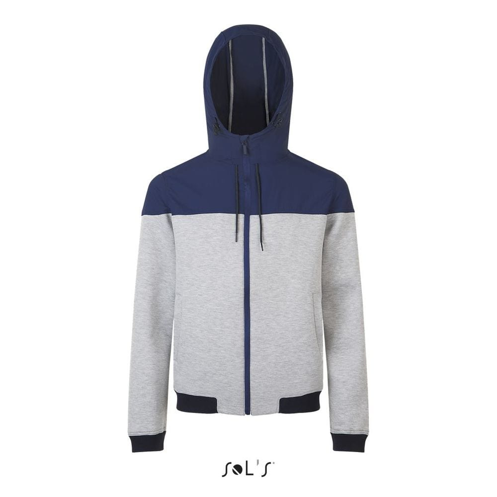 Sol's 01645 - Unisex Two Material Hooded Jacket Voltage