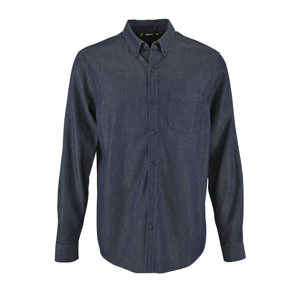 Sol's 02100 - Barry Men's Denim Shirt