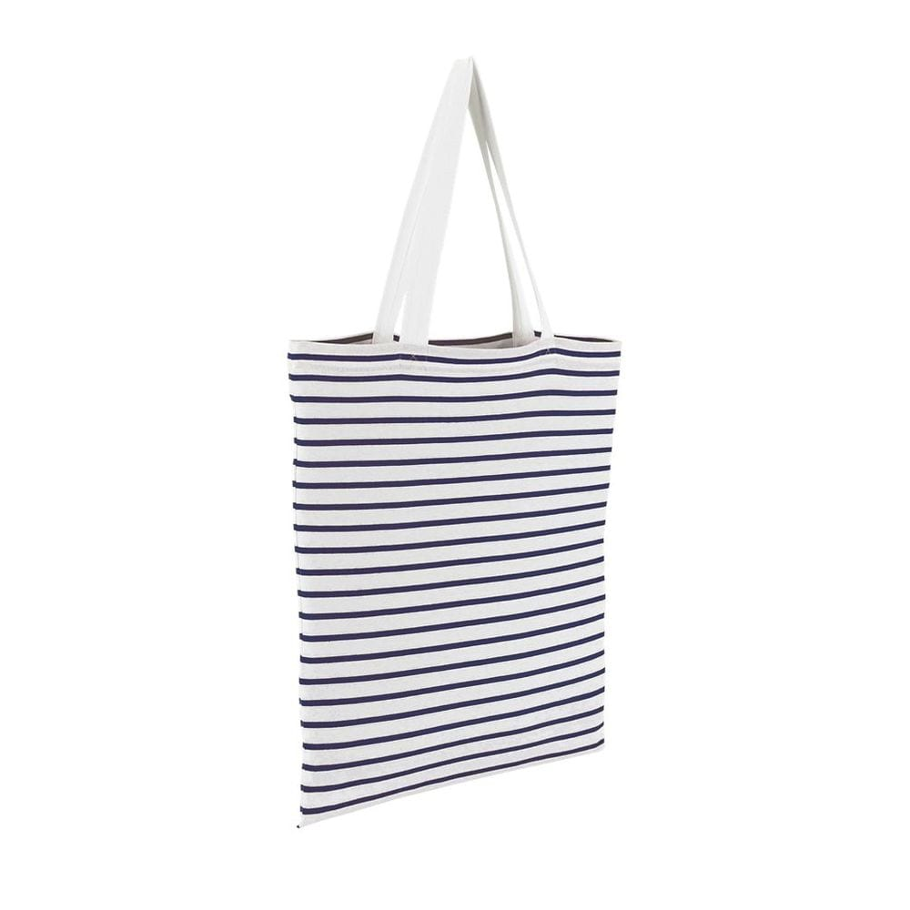 Sol's 02097 - Striped Jersey Shopping Bag Luna