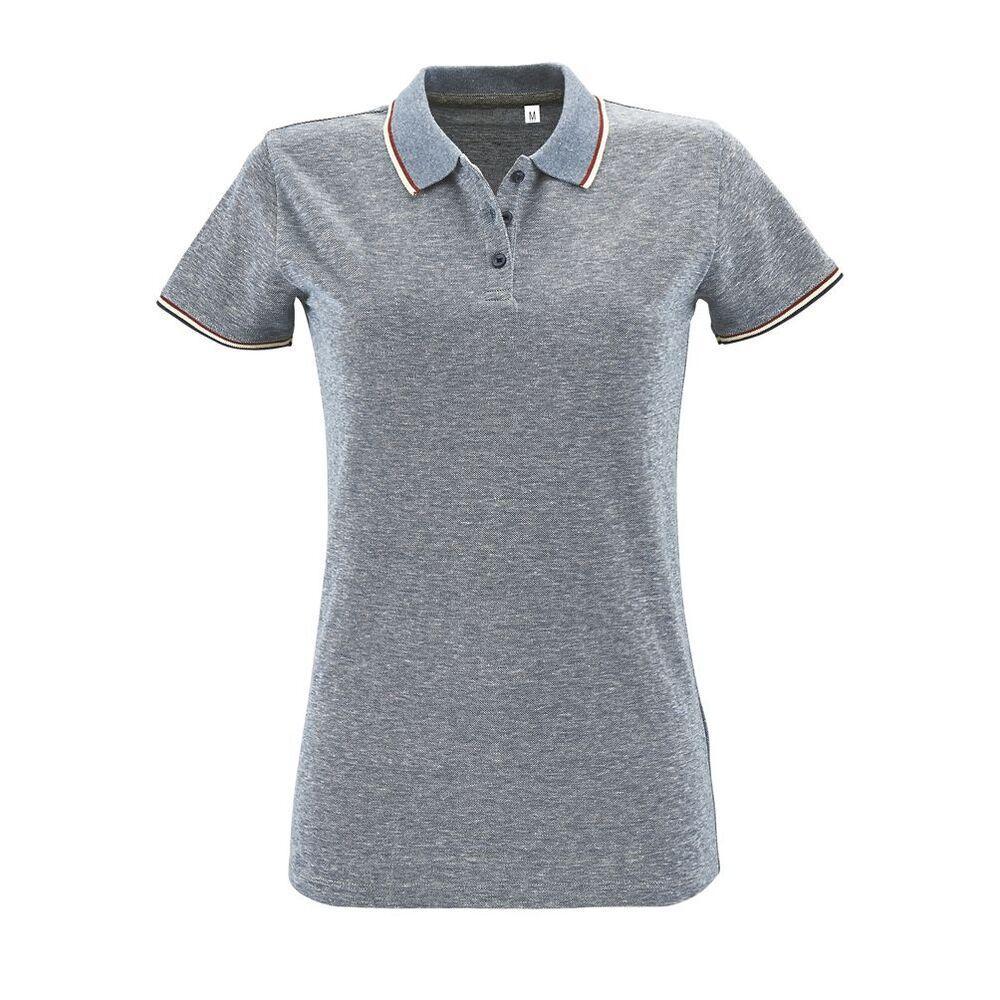 Sol's 02082 - Women's Heather Polo Shirt Paname